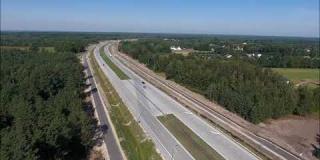 Embedded thumbnail for 31.08.2020 -S17 od km 17+000 do km 18+500 - widok na S17 i drogi dojazdowe DD20 i DD22