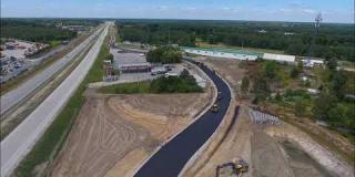 Embedded thumbnail for 31.07.2020 - roboty drogowe - układanie masy bitumicznej na drodze dojazdowej DD-17, Wola Ducka