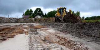 Embedded thumbnail for 17.05.2018 - Odhumusowanie terenu pod drogę DD24 w miejscowości Ostrowik