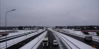 Embedded thumbnail for 11.02.2021 - Widok z estakady - Trasa Główna S17, Góraszka