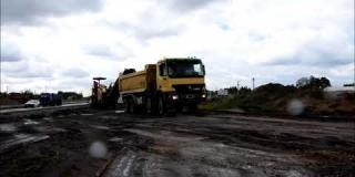 Embedded thumbnail for 03.06.2020 - frezowanie nawierzchni w km 19+200, Ostrowik