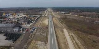 Embedded thumbnail for 28.02.2020 - Widok na trasę główną od km 14+230 do km 14+900, Wola Ducka