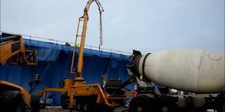 Embedded thumbnail for 21.12.2018 - betonowanie ustroju niosącego obiektów WD-1 i WD-3