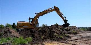 Embedded thumbnail for 08.05.2018 - odhumusowanie terenu pod drogę DD03 od km. 0+000 do km. 0+180 oraz wykop - odwodnienie nasypu